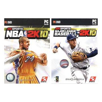 NBA 2K10+MLB 2K10 合輯(特價版)